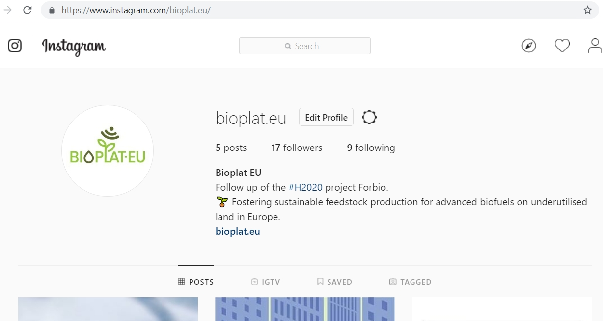 BIOPLAT-EU is also available on Instagram!