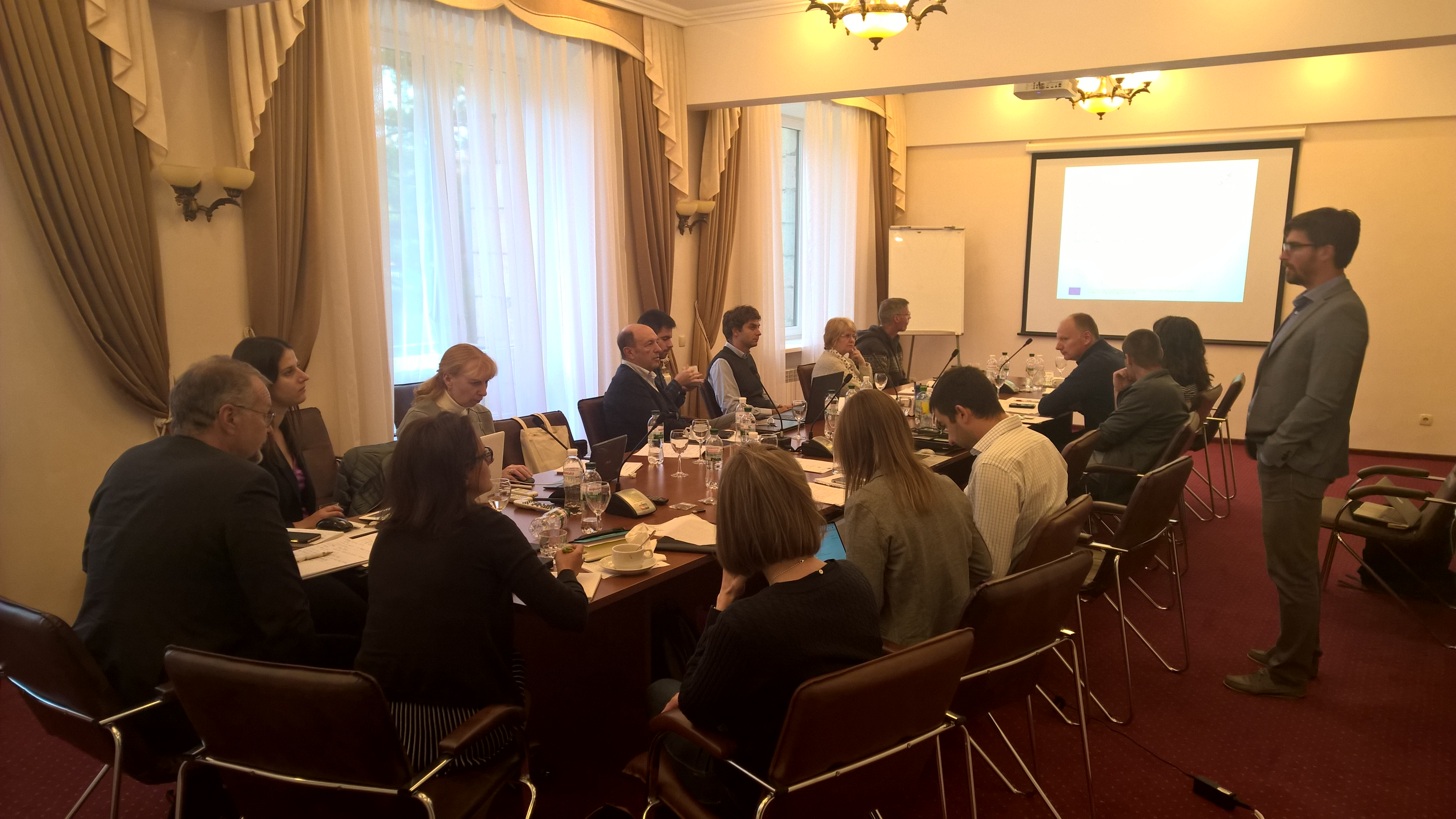 Second BIOPLAT-EU project meeting concluded in Kyiv on 26 September 2019